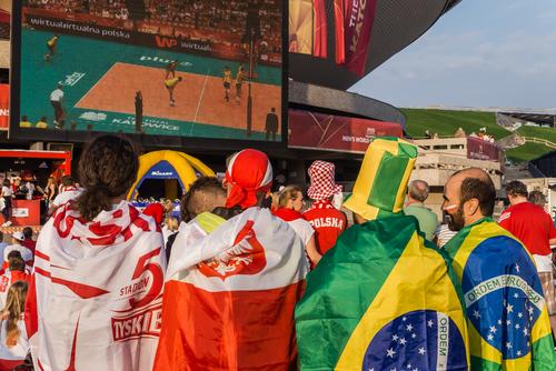 Kibice dali siatkarzom wsparcie przed Igrzyskami Olimpijskimi 2020!