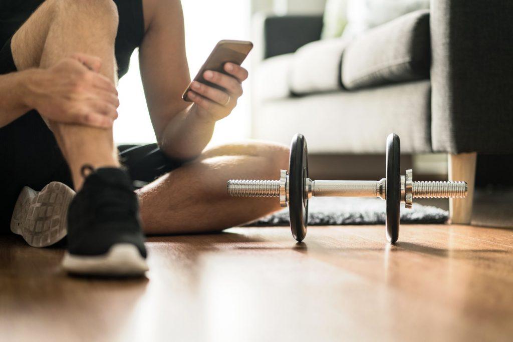 trening sportowy kwarantanna